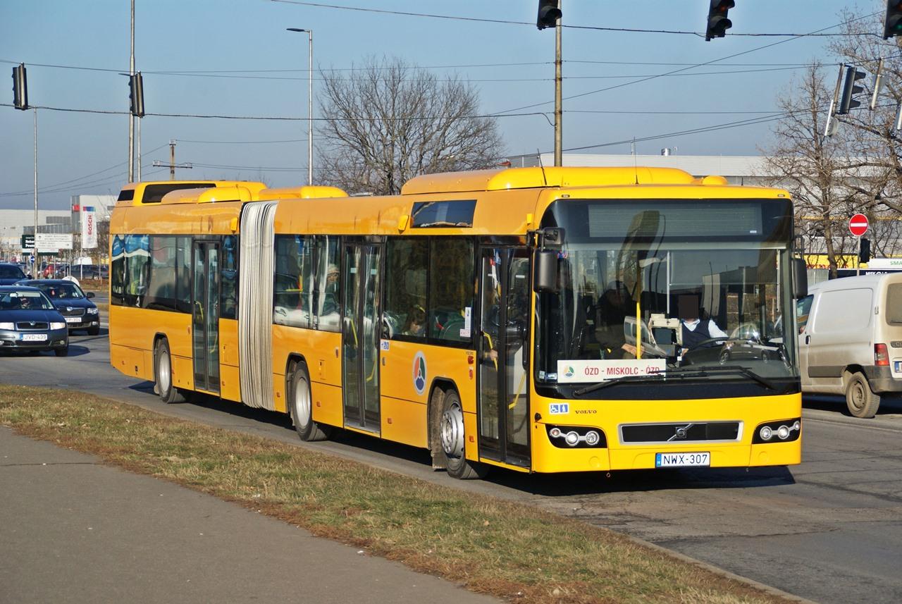Norvégiából érkezett 7700A immáron ÉMKK-s arculattal Miskolcon (fotó: Bódi Balázs)