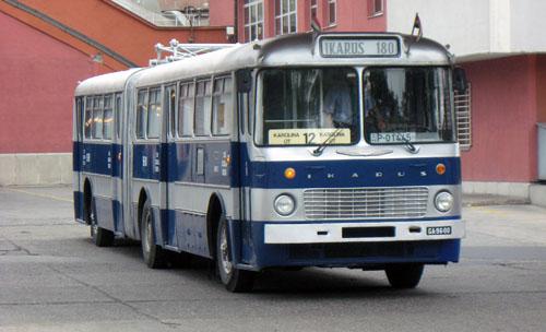 A buszra a kiállítás időszaka alatt a kelenföldi garázsban vigyáztak. Eredeti rendszáma ugyan fent van, de vizsgája nincs róla, így a busz próbarendszámmal közlekedett