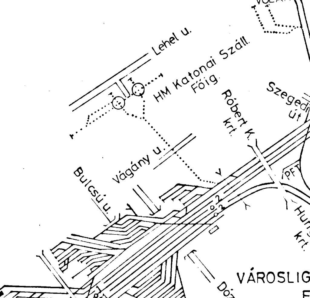 budapest térkép nyugati pályaudvar IHO   Vasút   Vágány a Lőportárdűlőn budapest térkép nyugati pályaudvar