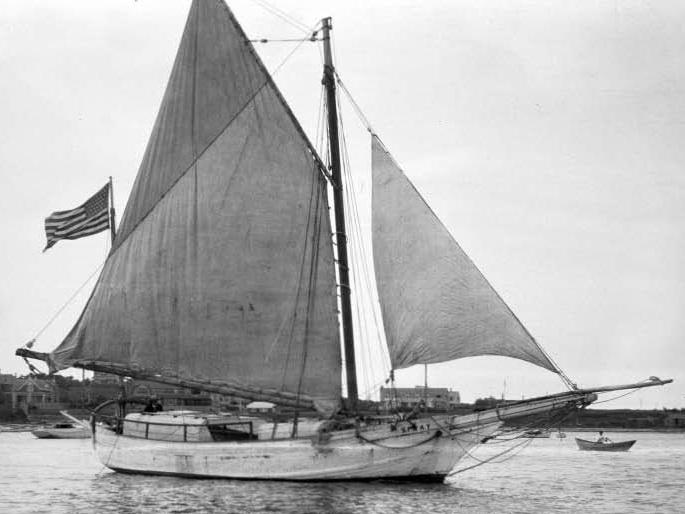 A Spray, amivel Joshua Slocum 1895. április 24.–1898. június 27. között hajózta körül a földgolyóbist
