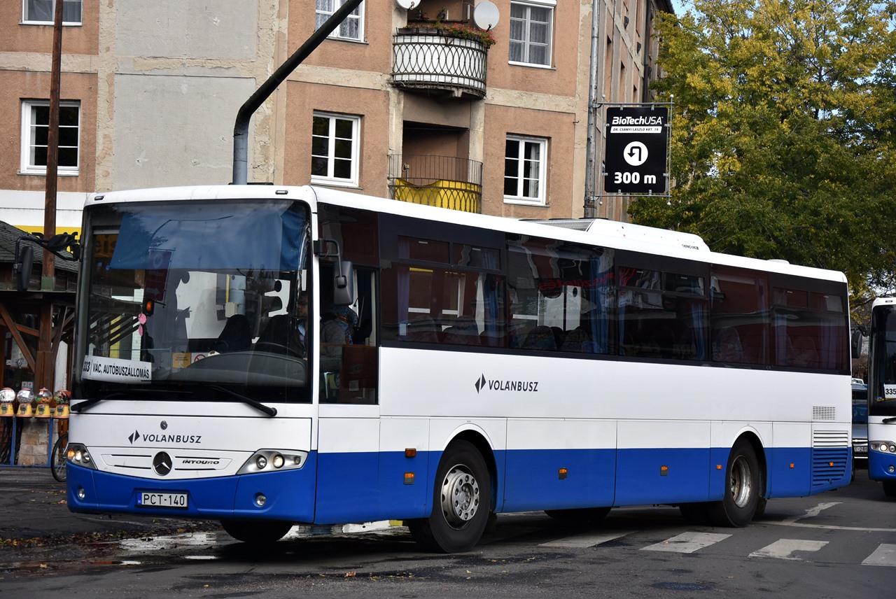A Credók érkezésével felszabaduló Mercedes Intourók a váci térségbe kerültek, illetve november 1. óta a dányi 484-es vonalat is ezzel a típussal adják ki