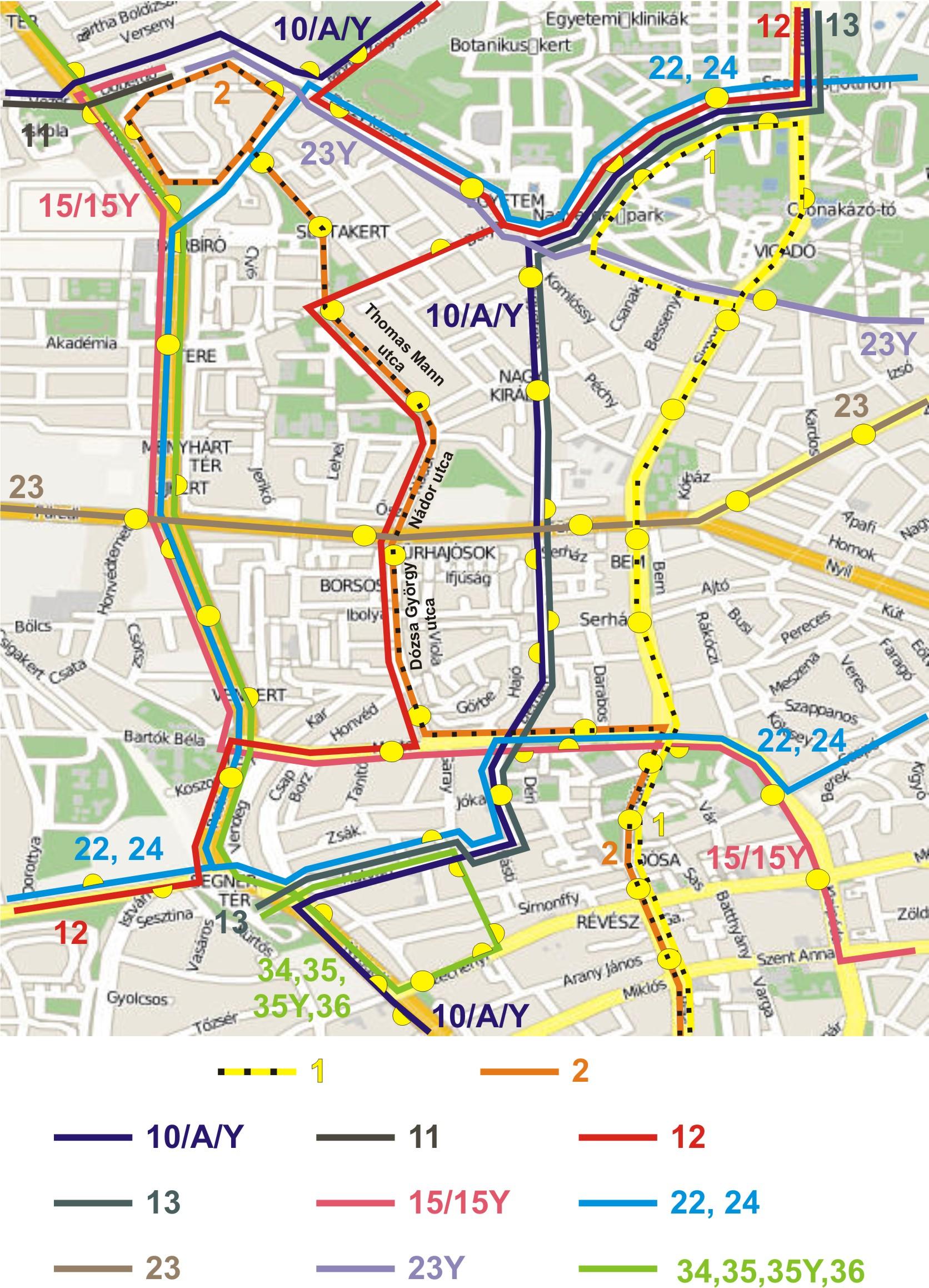 debrecen busz térkép IHO   Vasút   Debreceni dohogások a 2 es villamos körül debrecen busz térkép