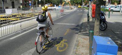 Az áhított kerékpársáv nyomában