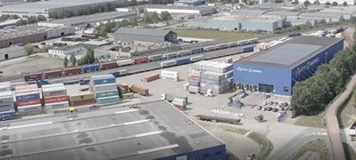 Épül a kontinentális Európa legnagyobb intermodális terminálja