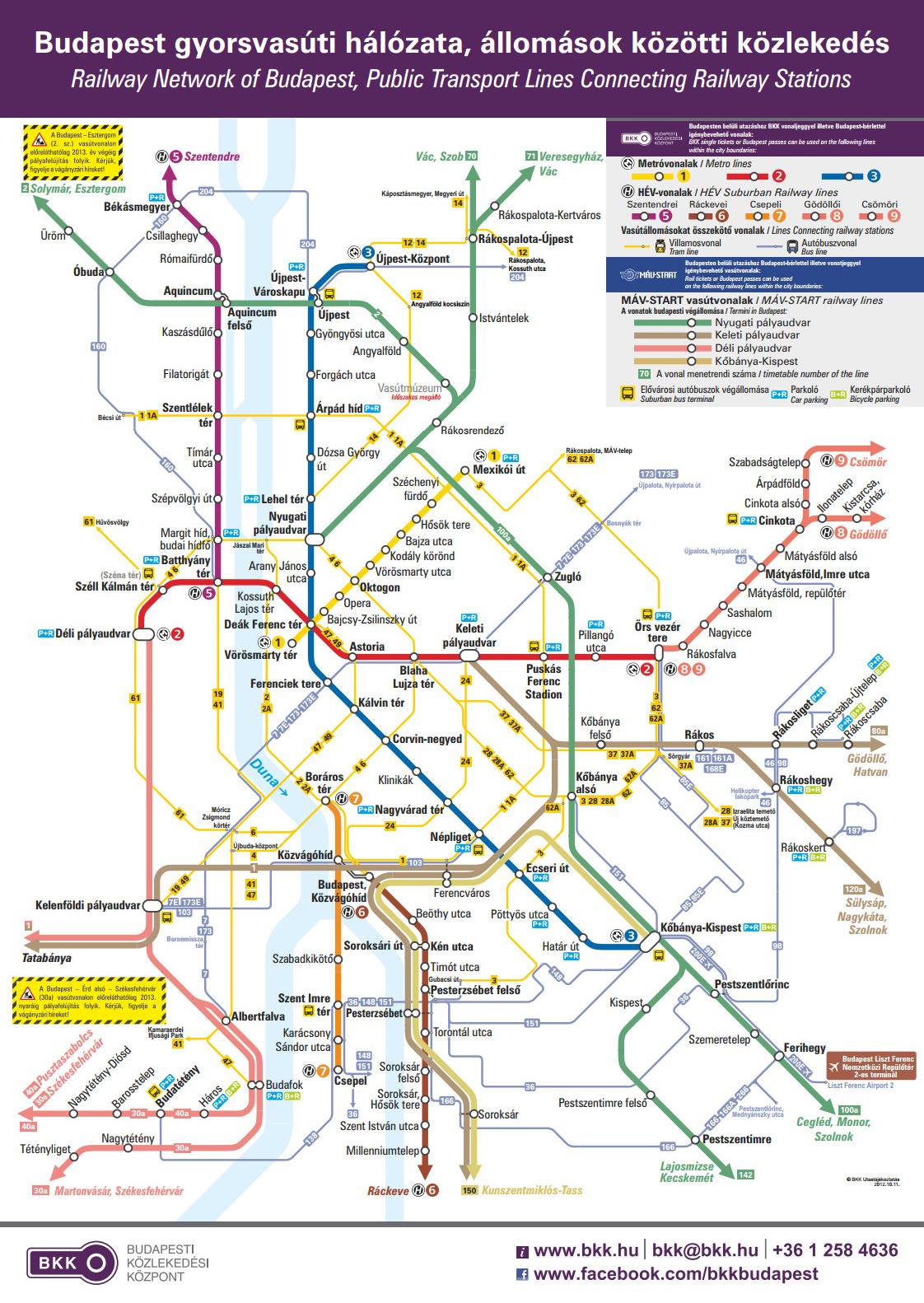bkk budapest térkép IHO   Közút   Budapesti spagetti BKK módra bkk budapest térkép