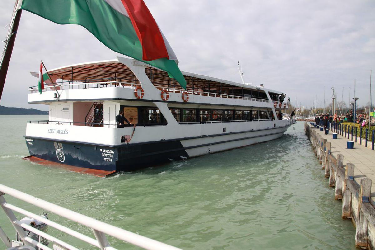 Idén a járványhelyzet miatt csak május 30-án indul a balatoni hajózási szezon (fotó: MTI)