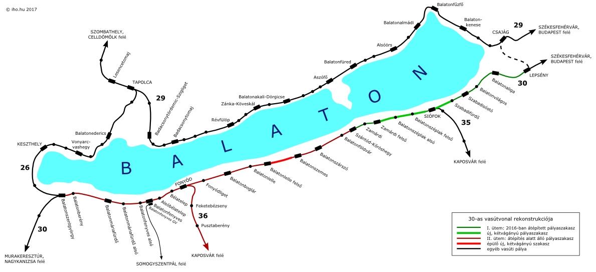 balaton vasúti térkép részletes IHO   Vasút   Ahogy a gyümölcsfák, úgy virágzik fel a dél balatoni  balaton vasúti térkép részletes