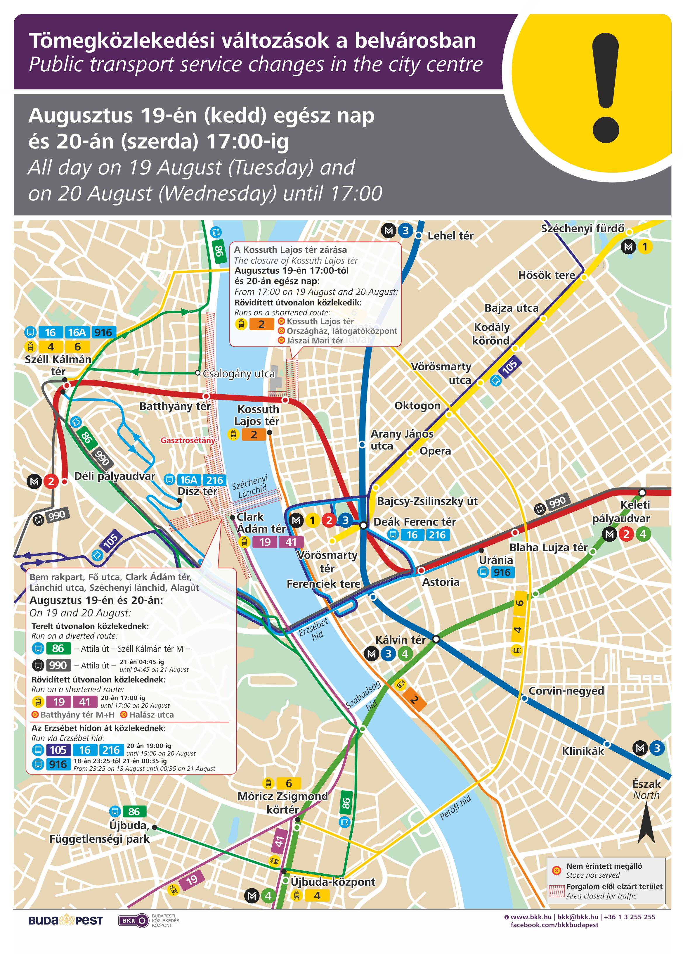 budapest 2 es villamos útvonala térkép IHO   Vasút   Ünnepi menetrendek, lezárások augusztus 20 án budapest 2 es villamos útvonala térkép