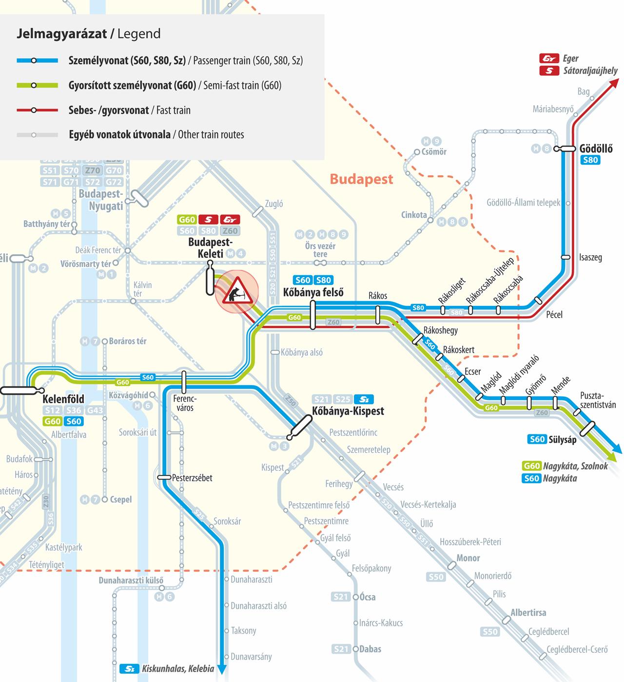 Máv Térkép Vonat