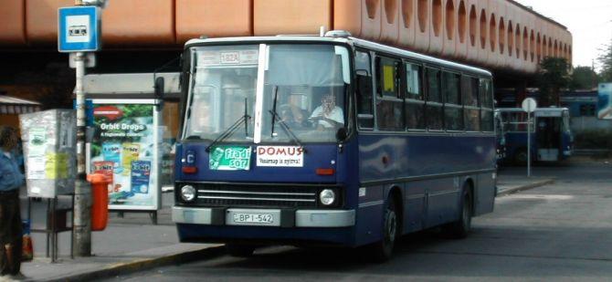 Vót: Kőbánya-Kispest buszai tizenöt évvel ezelőtt
