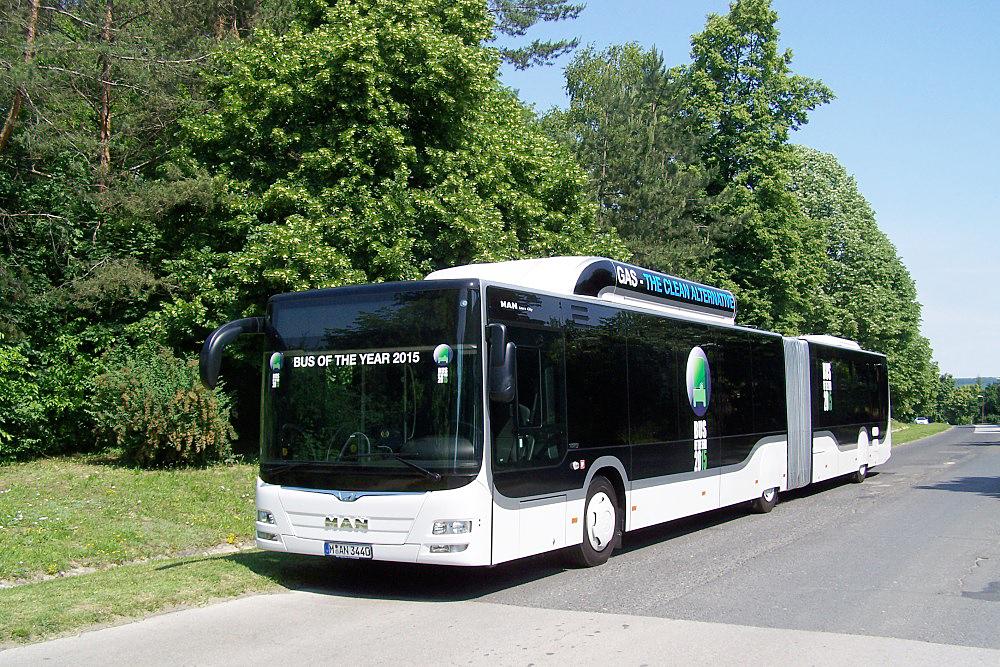 A 2015-ben az Év autóbuszának választott MAN Lion's City GL<br>(a képek forrása: MVK Zrt.)