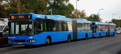 Budapesti buszok: Volvók másodkézből