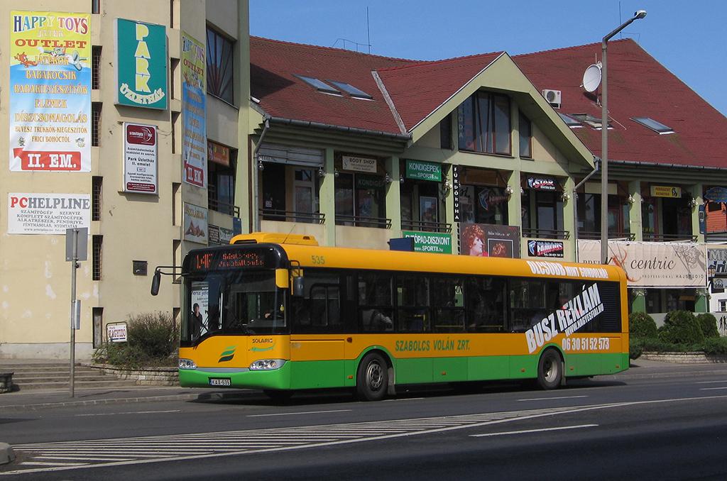 Jelenleg a Solaris a legelterjedtebb márka Nyíregyházán, ők legalább a jövő nyárig még biztosan maradnak a városban