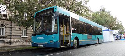Buszparádé az Andrássy úton