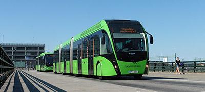 A zöld buszok városa