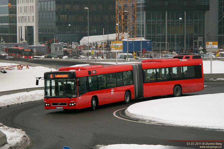 Öt csuklós Volvo buszt szerzett be Oslóból az Intertanker Kft. (fotó: Øyvind Berg, phototrans.eu)