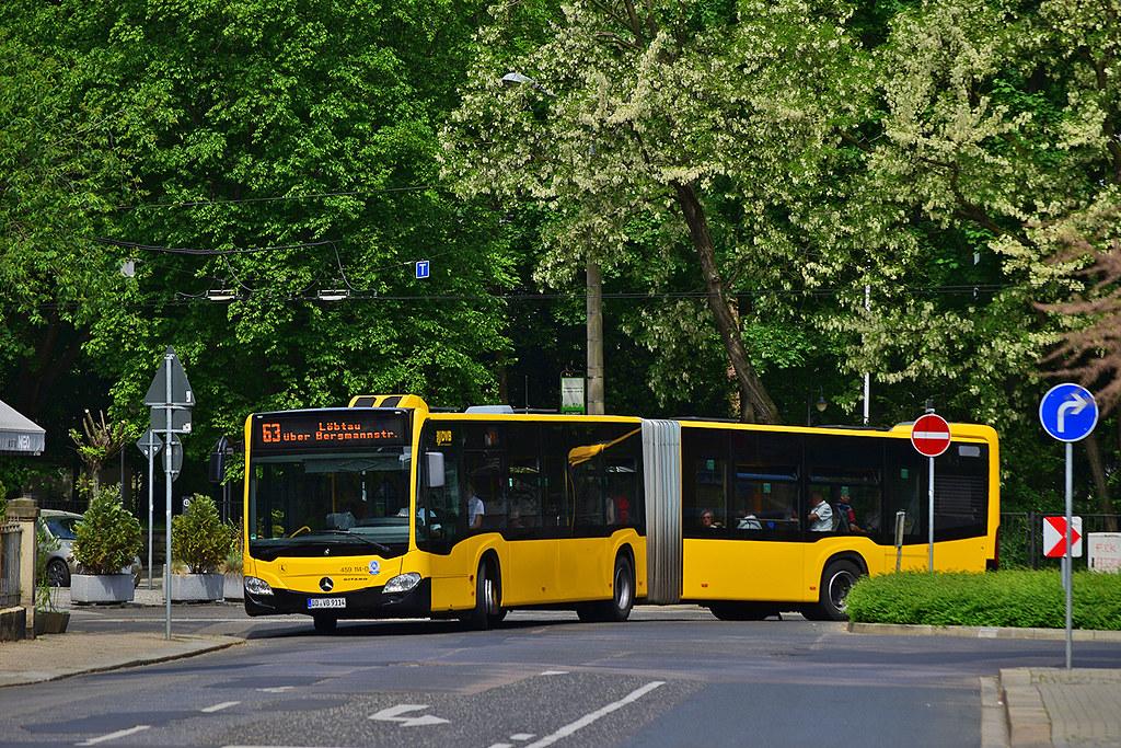 Az előző tenderkiíráson egyedüli pályázó Evobus Mercede Citaro G-jét túl drágának találta a Volán Buszpark (illusztráció: flickr)