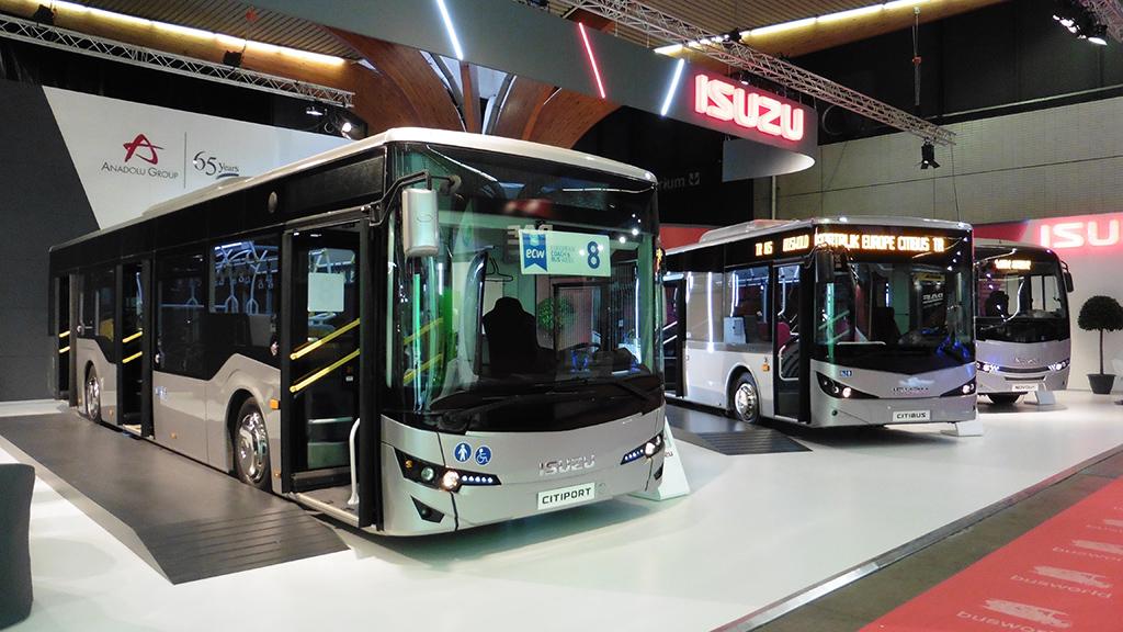 Ilyen török gyártású Isuzu Citiport buszokat hozott volna a B Euro Car Kft. (fotók: Ács Attila)