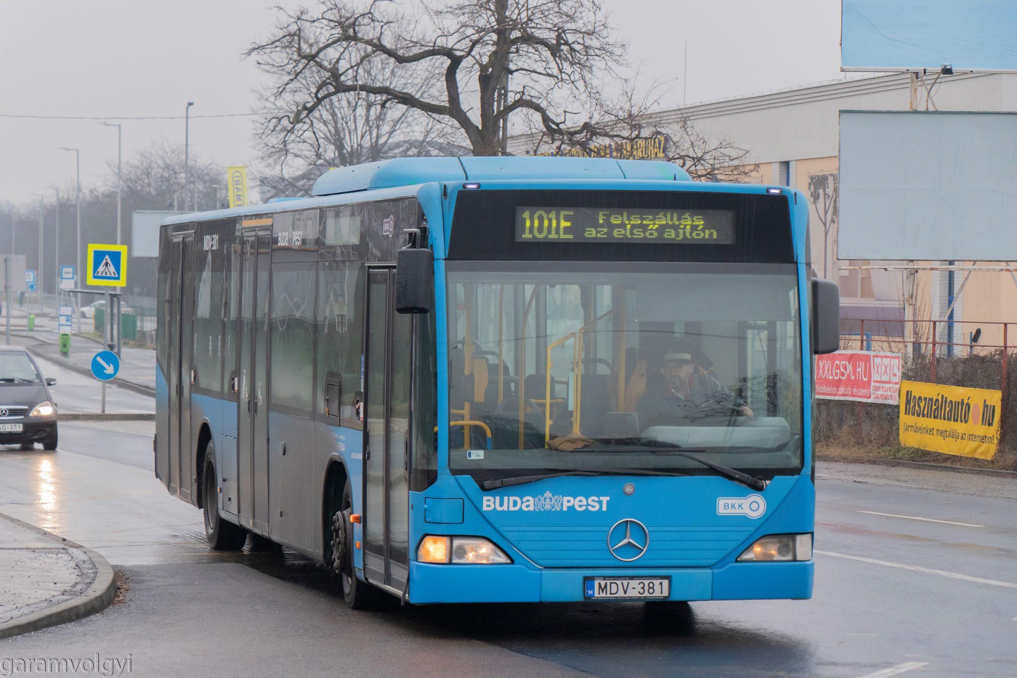A négy, használtan vásárolt VT-Arrivás Citaro is elbúcsúzik Budapesttől (fotó: Garamvölgyi Gergő)