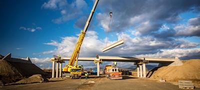 Halad az M30-as szlovák határ menti szakaszának építése