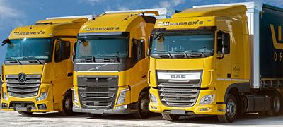 Új fedélzeti számítógépek a Waberer's kamionjain