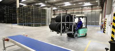 Új logisztikai központot adtak át Nyíregyházán