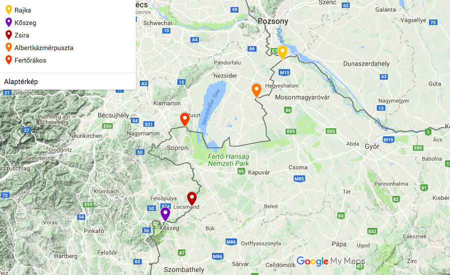 Közútfejlesztés Ausztria felé öt helyen