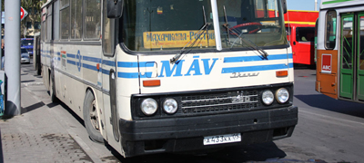 Bezzeg, amikor MÁV Tours-buszok jártak Oroszországban!