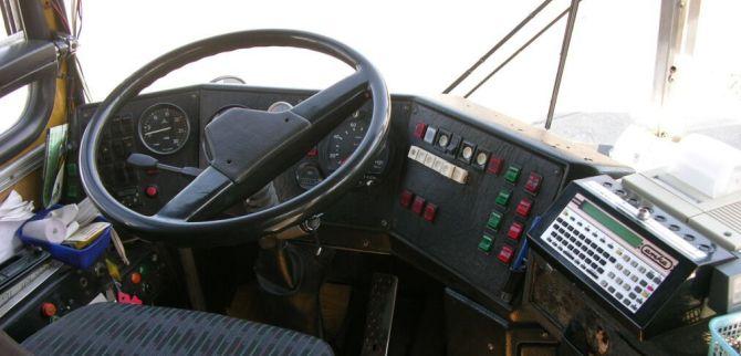 A sofőrbá' munkahelye