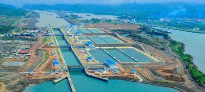 Panama-csatorna: szélesítés kipipálva