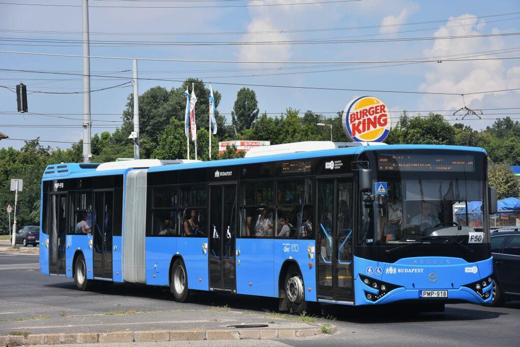 Csuklós Modulo 168d eseti alkalommal közlekedik ott, ahová idén 30 társával együtt várták: az M3-as metrópótlón