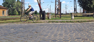Gerillakertészkedés után gerilla-kerékpárút