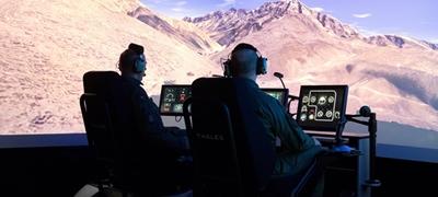 Helikopterszimulátort adtak át Szolnokon