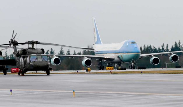 Az Air Force One Everettben
