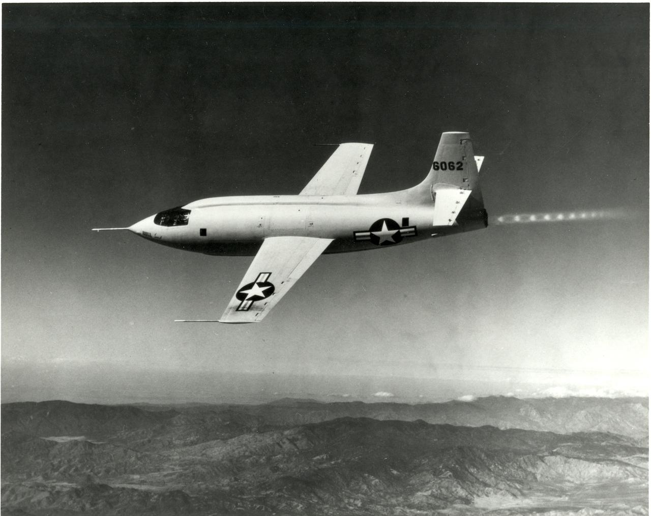Az X-1 vízszintesen is képes volt a hangsebességre
