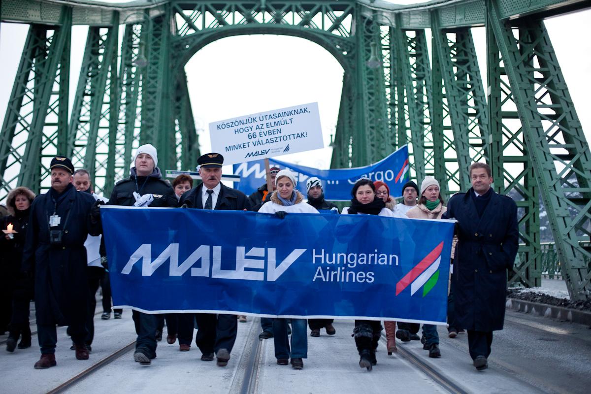 A februári tüntetés <br>(fotók: Somogyi Tóth Péter)