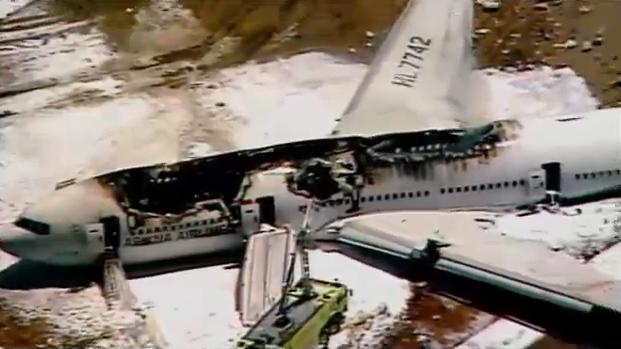 A 777-es balesete is a túlnyomó többség számára túlélhető volt, a tűz csak a földetérés után percekkel keletkezett