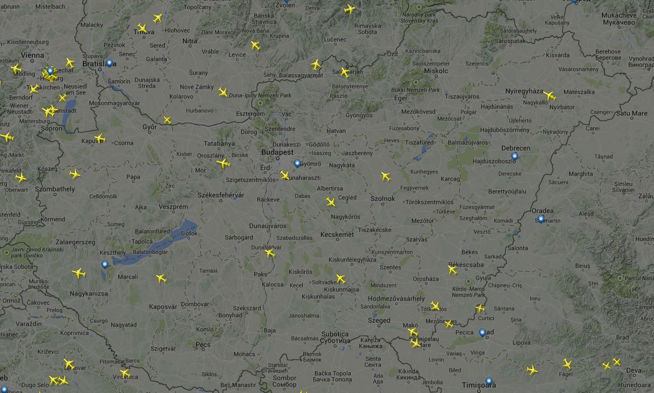 légifolyosók magyarország felett térkép IHO   Repülés   Szabad az égi pálya! légifolyosók magyarország felett térkép