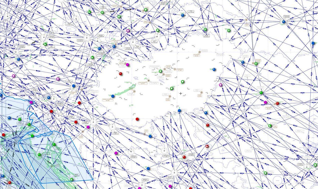 magyarország útvonalai térkép IHO   Repülés   Szabad az égi pálya! magyarország útvonalai térkép