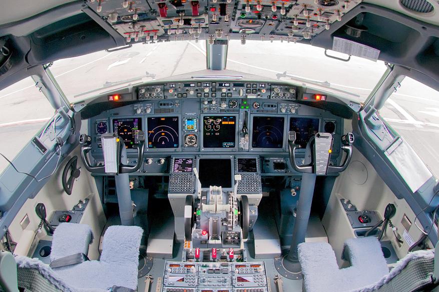 Üres Boeing-fülke egy orosz társaság gépén