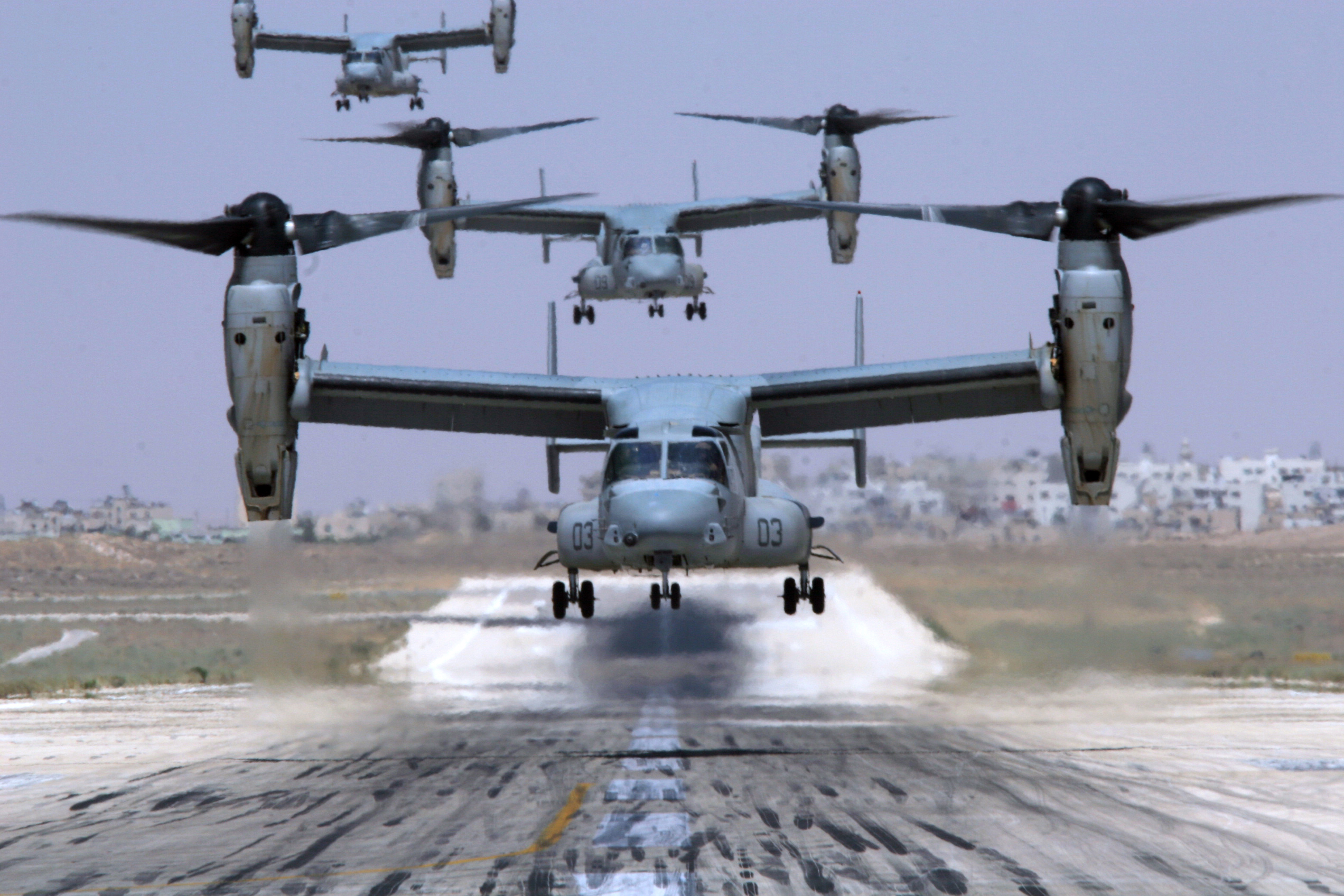 Pentagon Notifies Congress of Potential $3 Billion V-22 ...