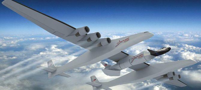 Újabb fantáziakép: így nézne ki, ha a Stratolaunch a mini űrrepülőgépet emelné indítási magasságba