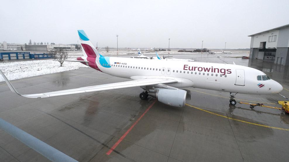 93d761156410 IHO - Repülés - Eurowings-start ősszel, már foglalhatók a jegyek