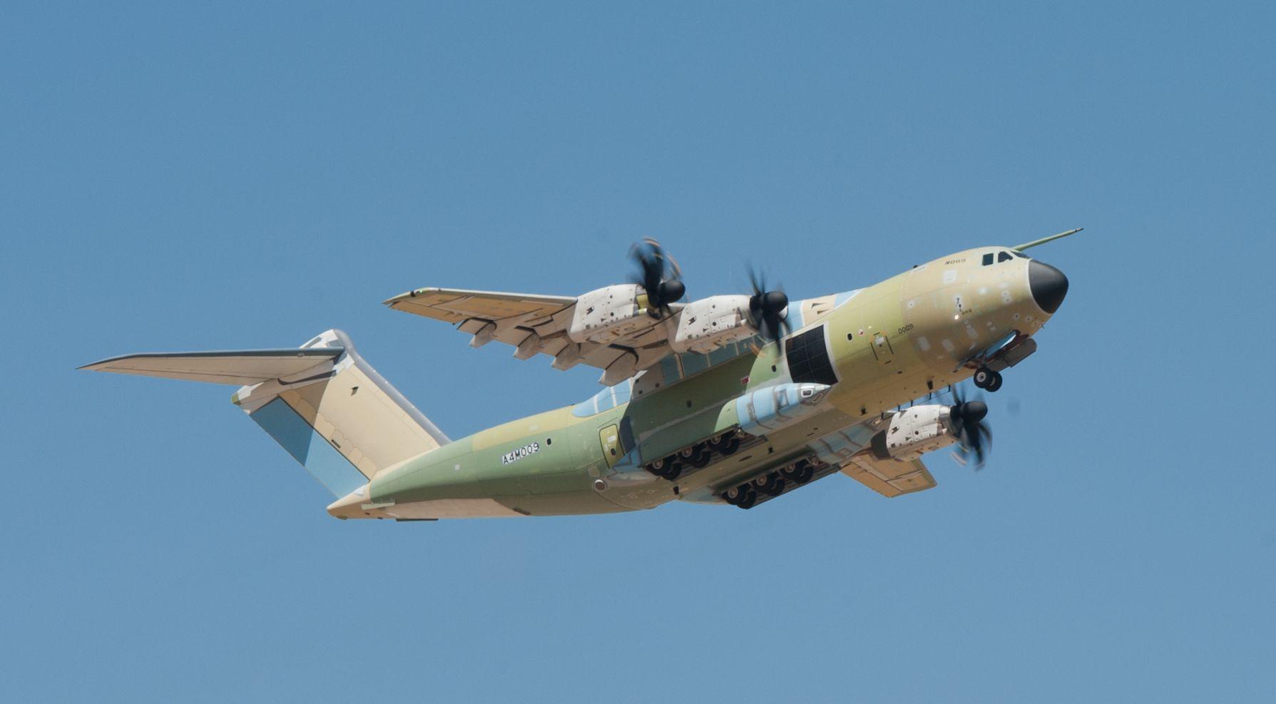 A török légierőnek elkészült első Atlas tavalyi szűzfelszállása