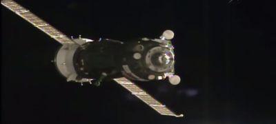 Megérkezett a megújult Szojuz az űrállomásra!