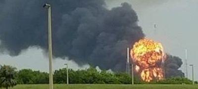 Rakétarobbanás Cape-en, drámai videó!