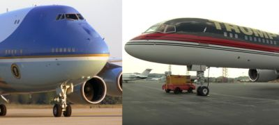Air Force One, Trump Force One