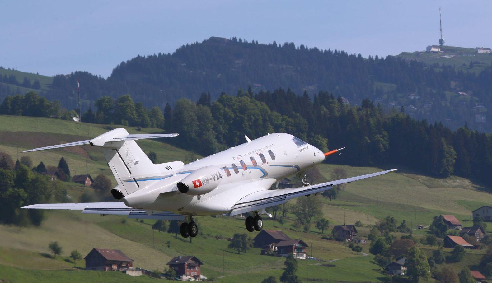 A svájci kihívó, a PC-24