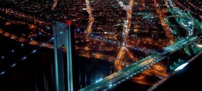 Érdek nélkül tetszik: a város felett, éjszaka