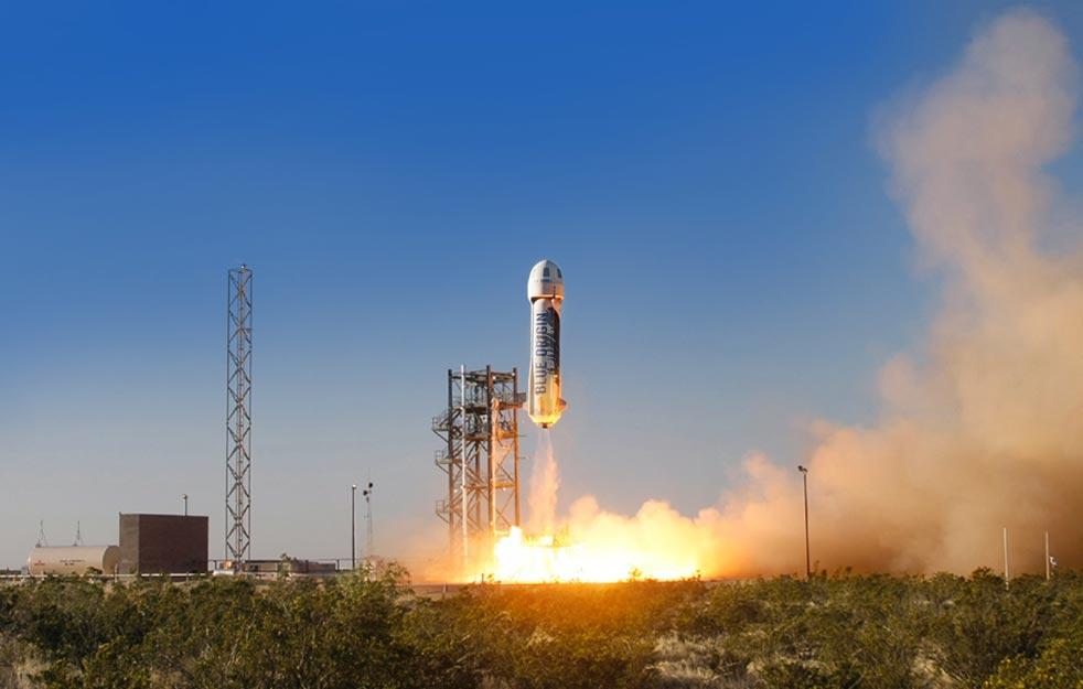 Texasban zajlanak a Blue Origin kísérletei; már idén emberrel is?